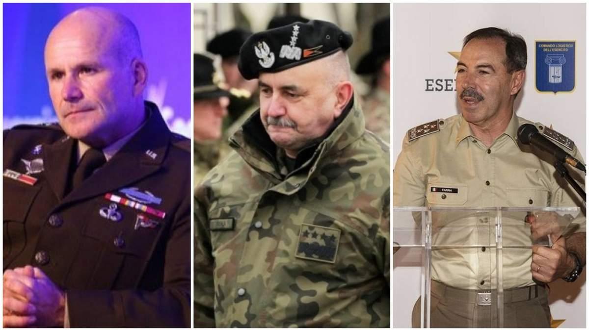 Коронавирус у генералов НАТО