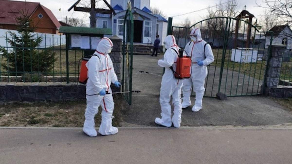С кем контактировала первая жертва коронавируса в Украине