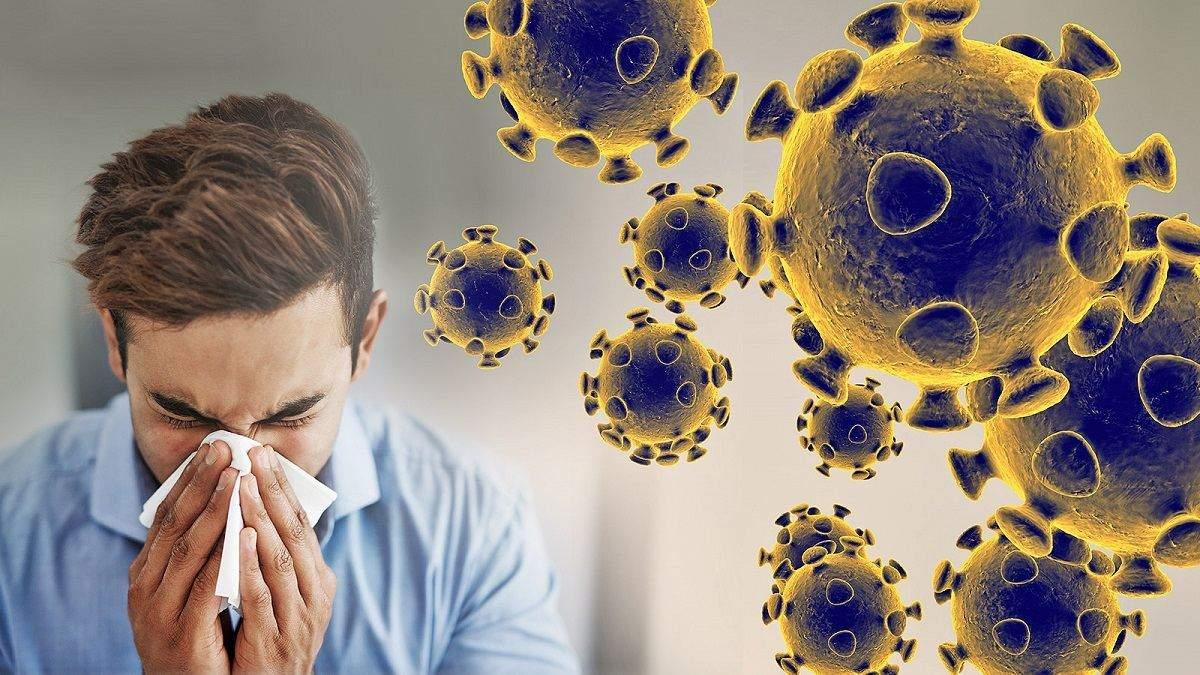 Як зростала кількість інфікованих на коронавірус