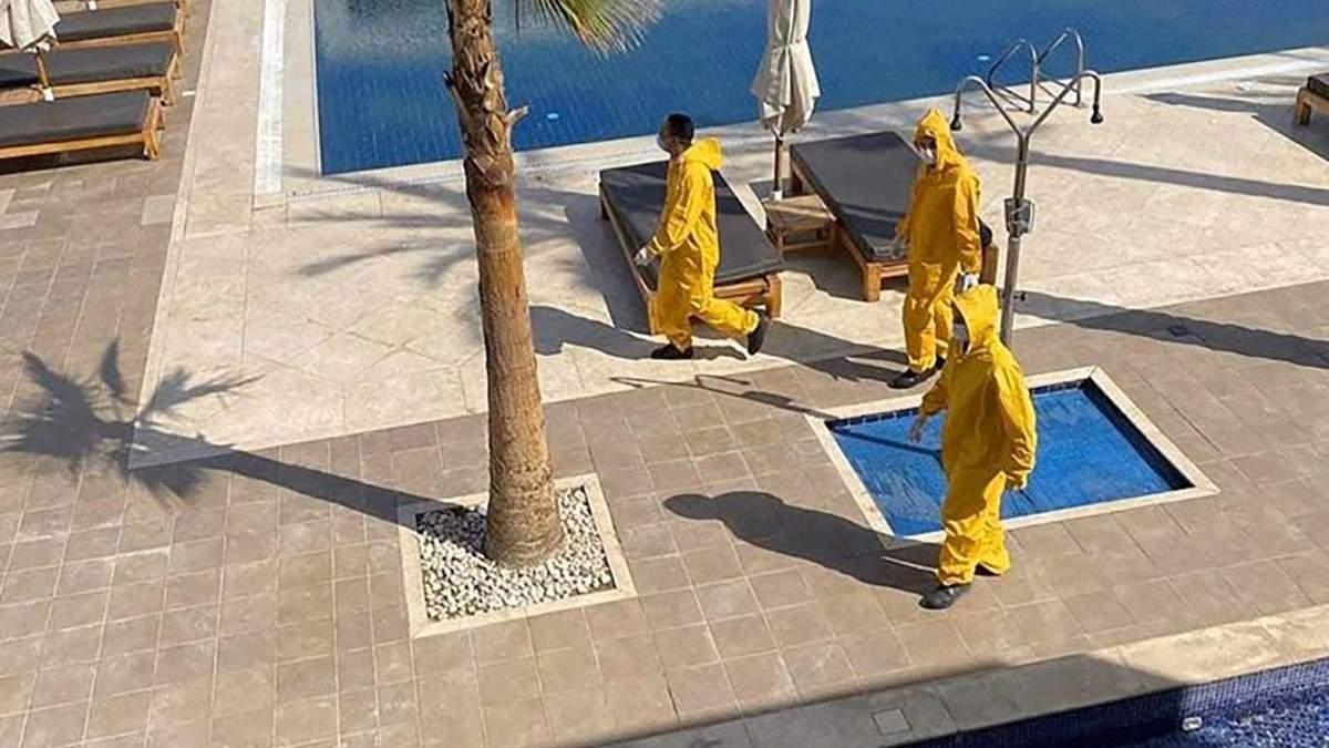 Українців закрили в Єгипті через коронавірус