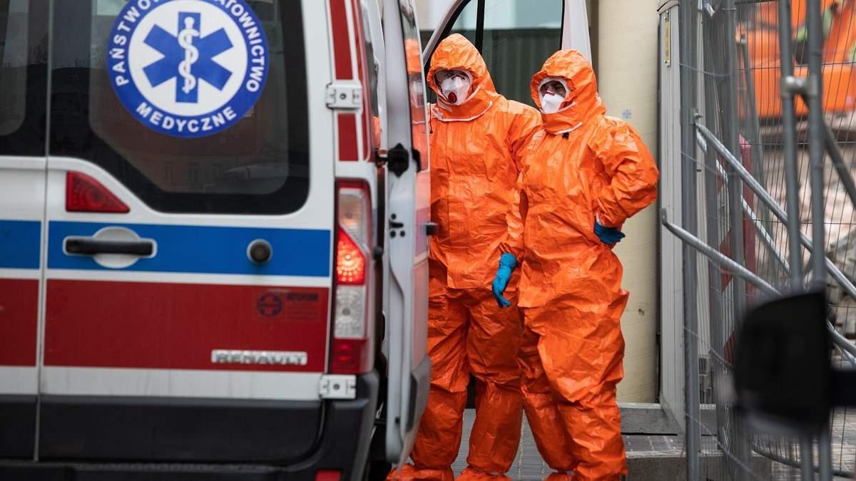 У двух украинцев в Польше подтвердили коронавирус
