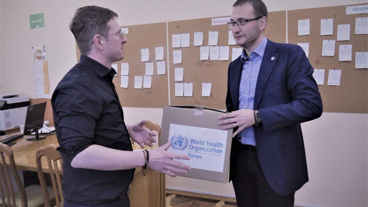 Кузін прийняв від ВООЗ партію тестів на виявлення коронавірусу