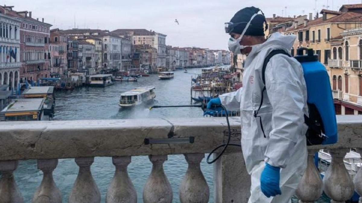 В Італії майже всі жертви коронавірусу мали проблеми зі здоров'ям