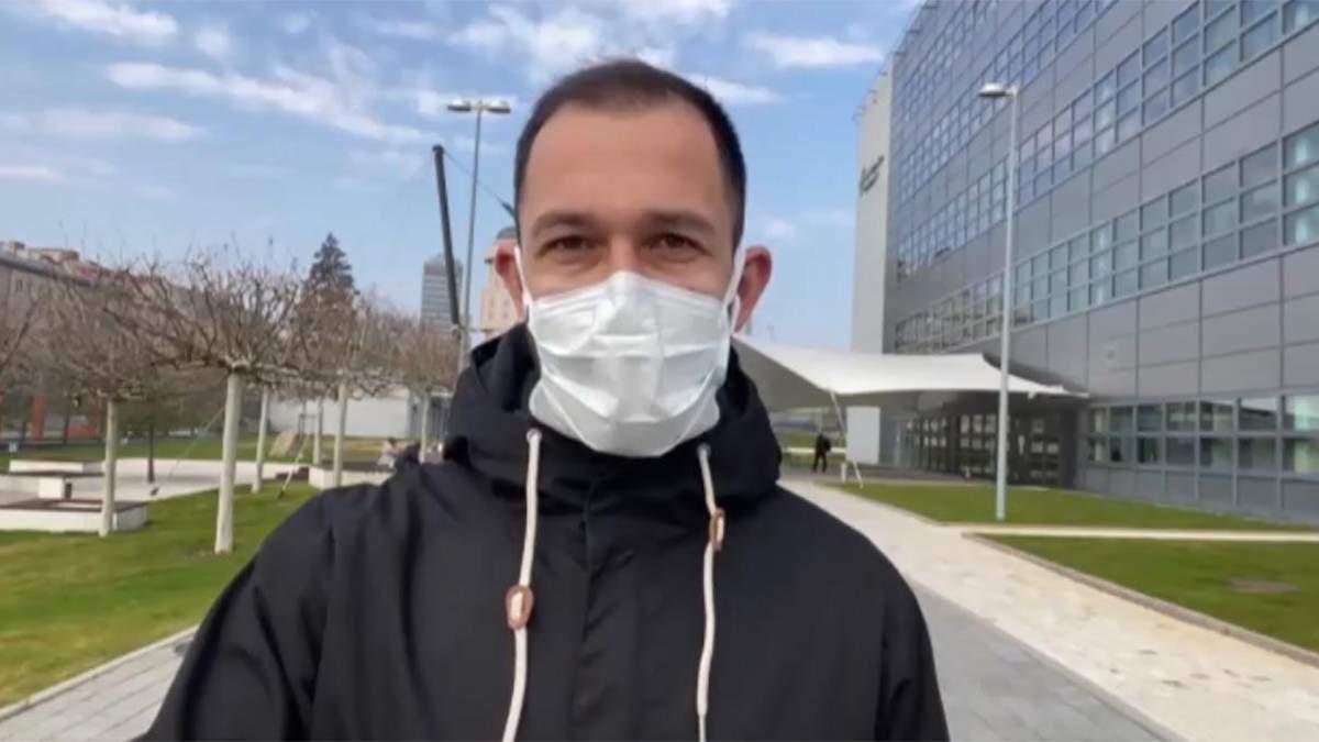 Навіть ведучі виходять у ефір в медичних масках, – українець про ситуацію у Чехії