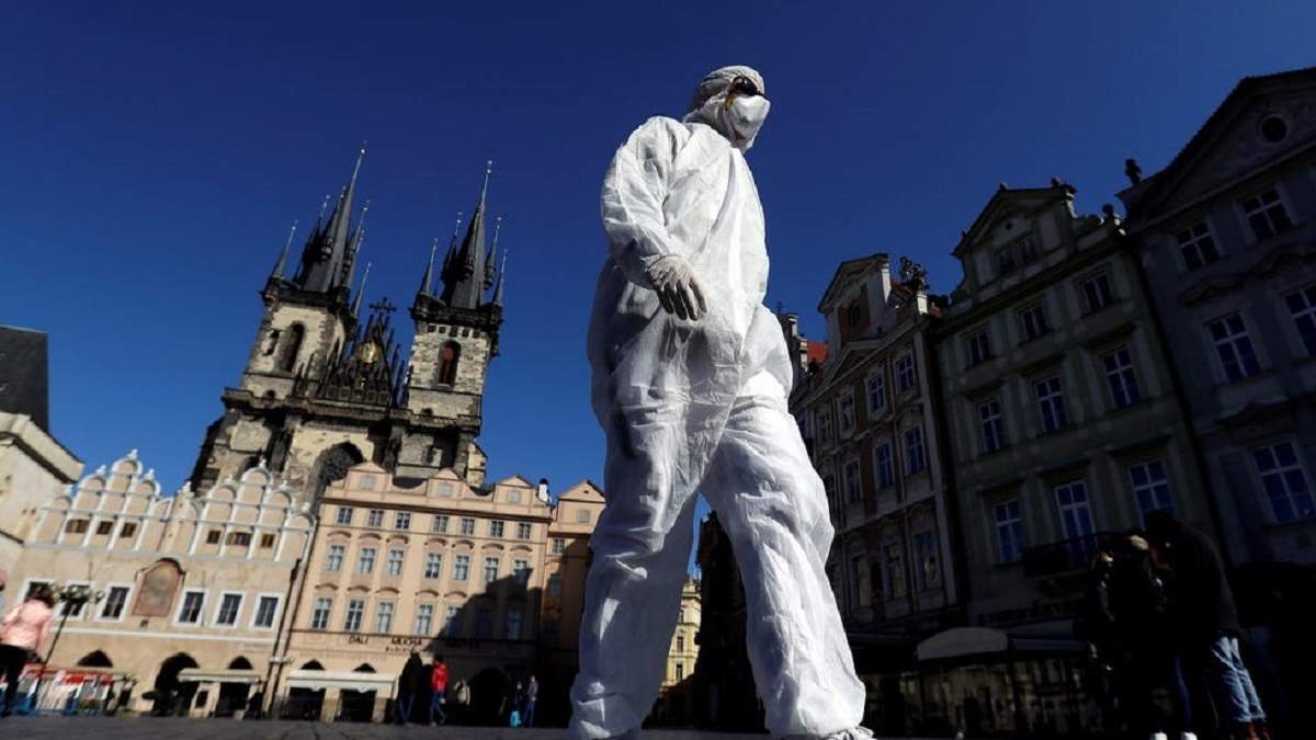 От коронавируса в Чехии умер 95-летний мужчина