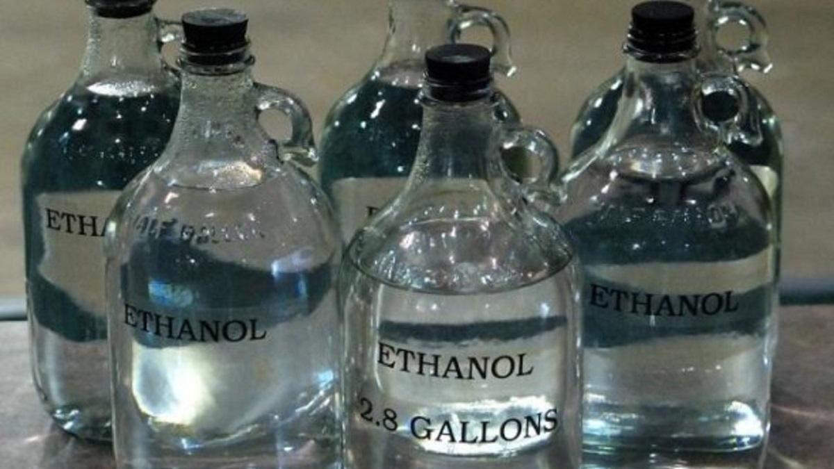 В Україні заборонили експорт етилового спирту