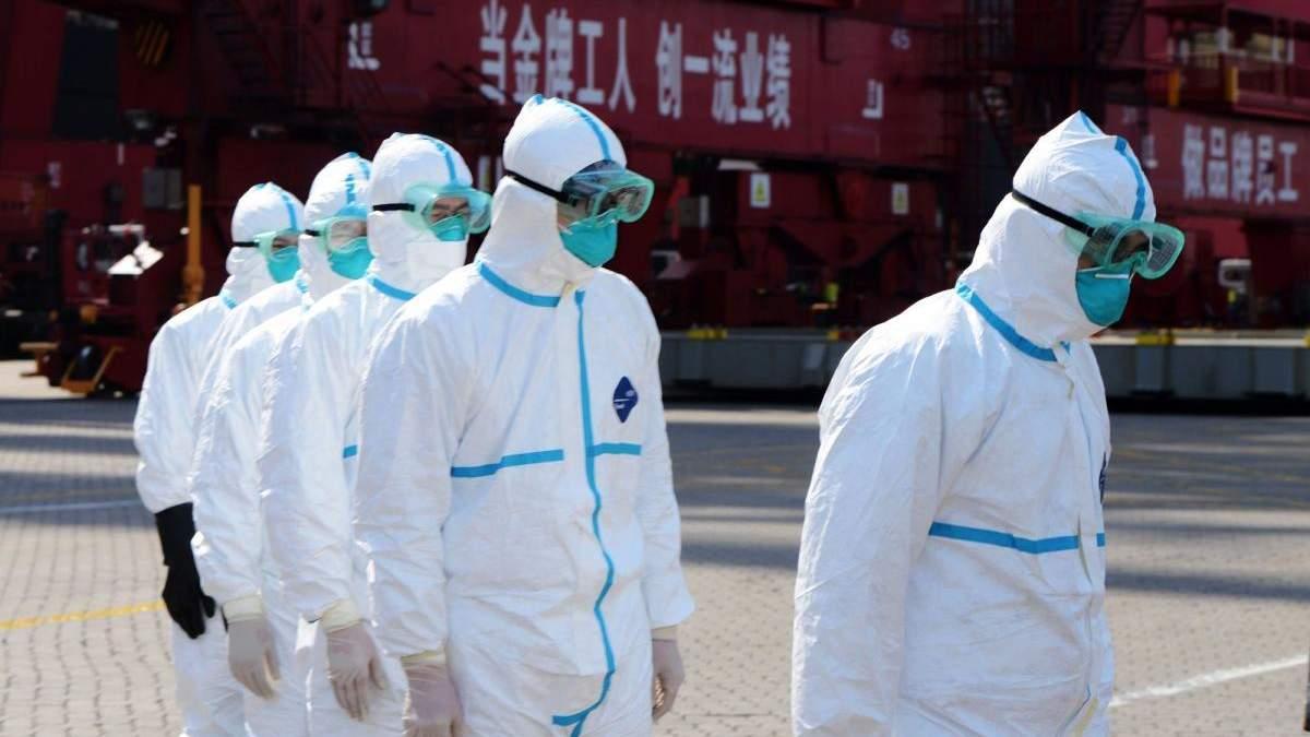 Китайские врачи помогут украинским