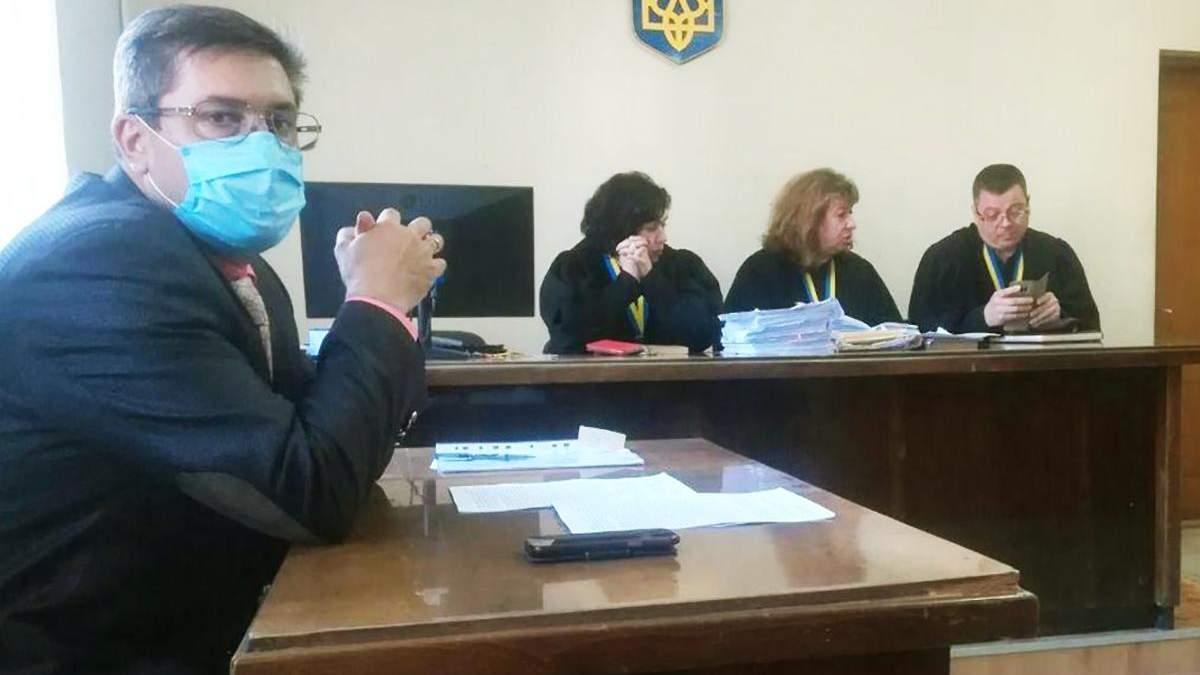 Одесский прокурор Сергей Поченюк заболел коронавирусом и ходит на работу: фото