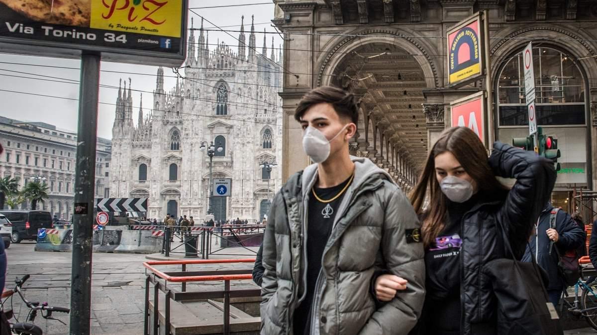Коронавирус в Италии: статистика