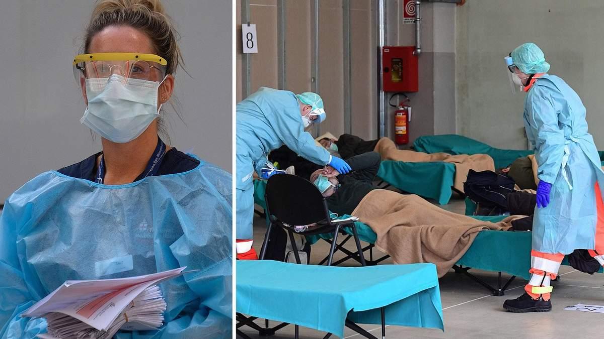 Італійські лікарі змушені вибирати, кого рятувати: бракує ліжок і кисневих апаратів
