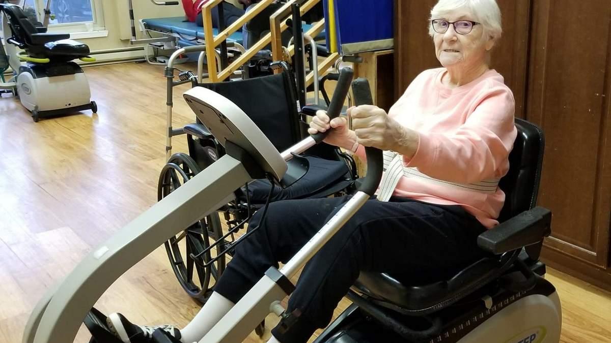 90-летняя женщина поборола коронавирус