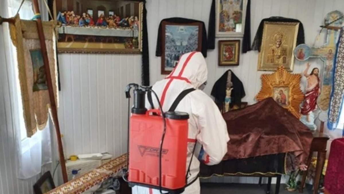 У шести парафіян церкви позитивні тести на Covid-2019
