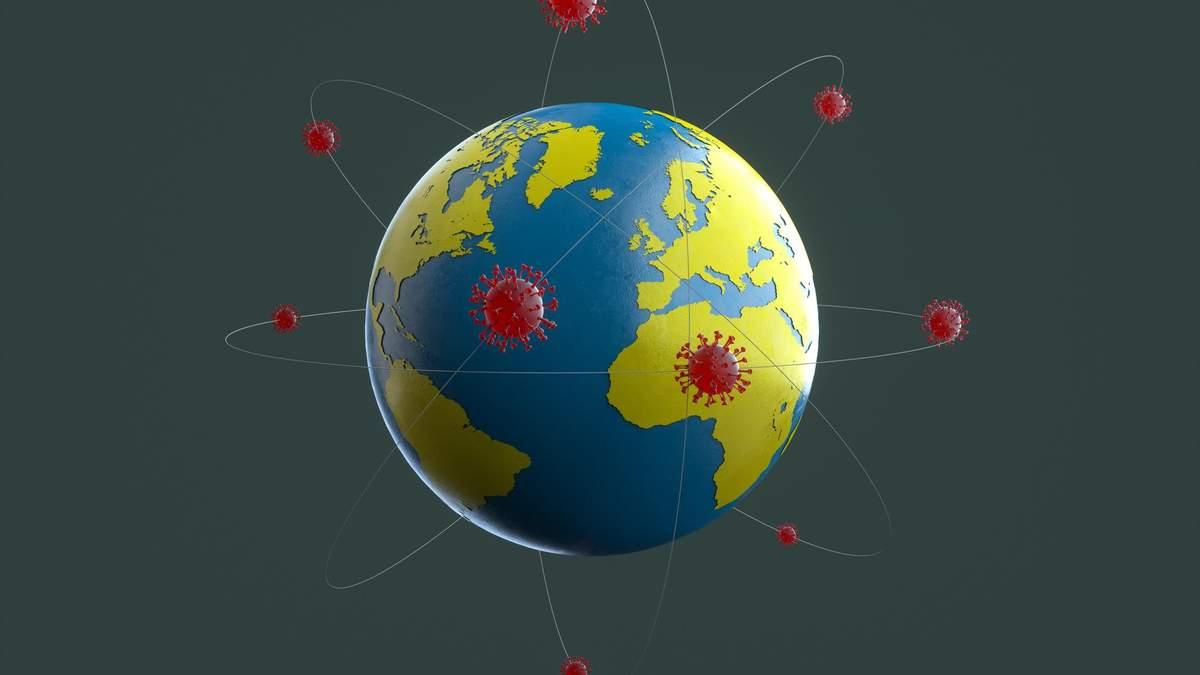 COVID-19: статистика захворюваності і смертності по країнах