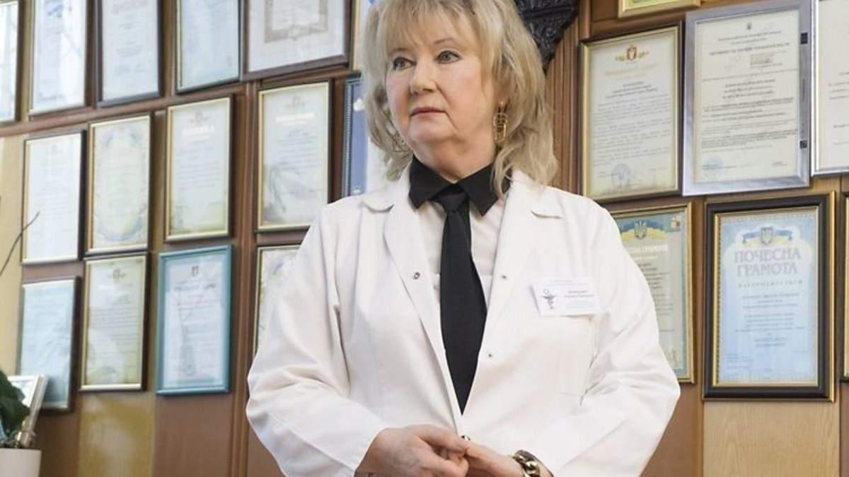 Лариса Духневич хвора коронавірусом - директорка лікарні Луцька