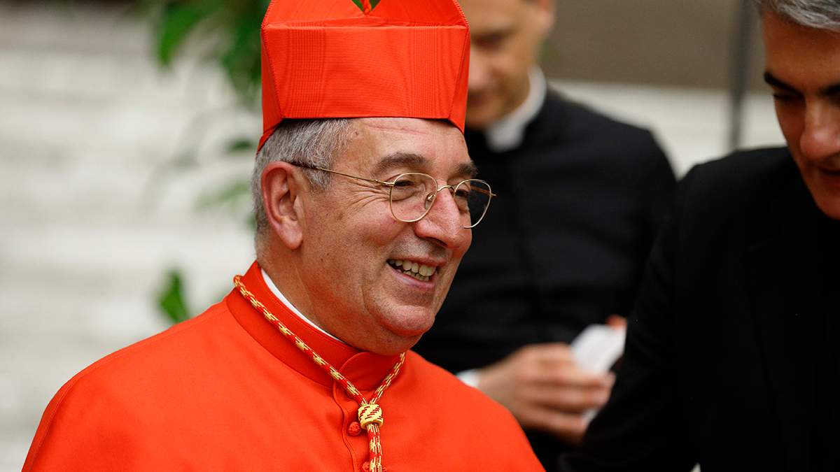 Коронавирусом заразился кардинал Анджело Де Донатис