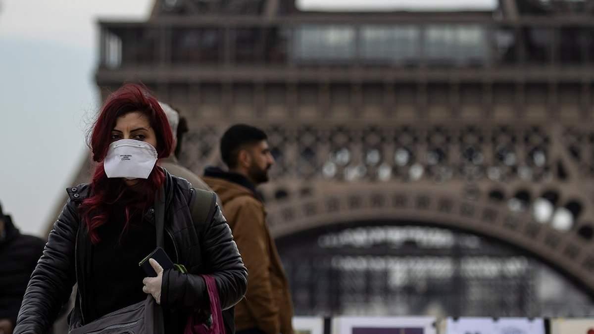 Франція вийшла на 4 місце за кількістю смертей через COVID-19 у світі