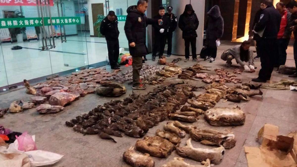 В Китаї знову запрацювали ринки, де продають диких тварин для їжі: фото