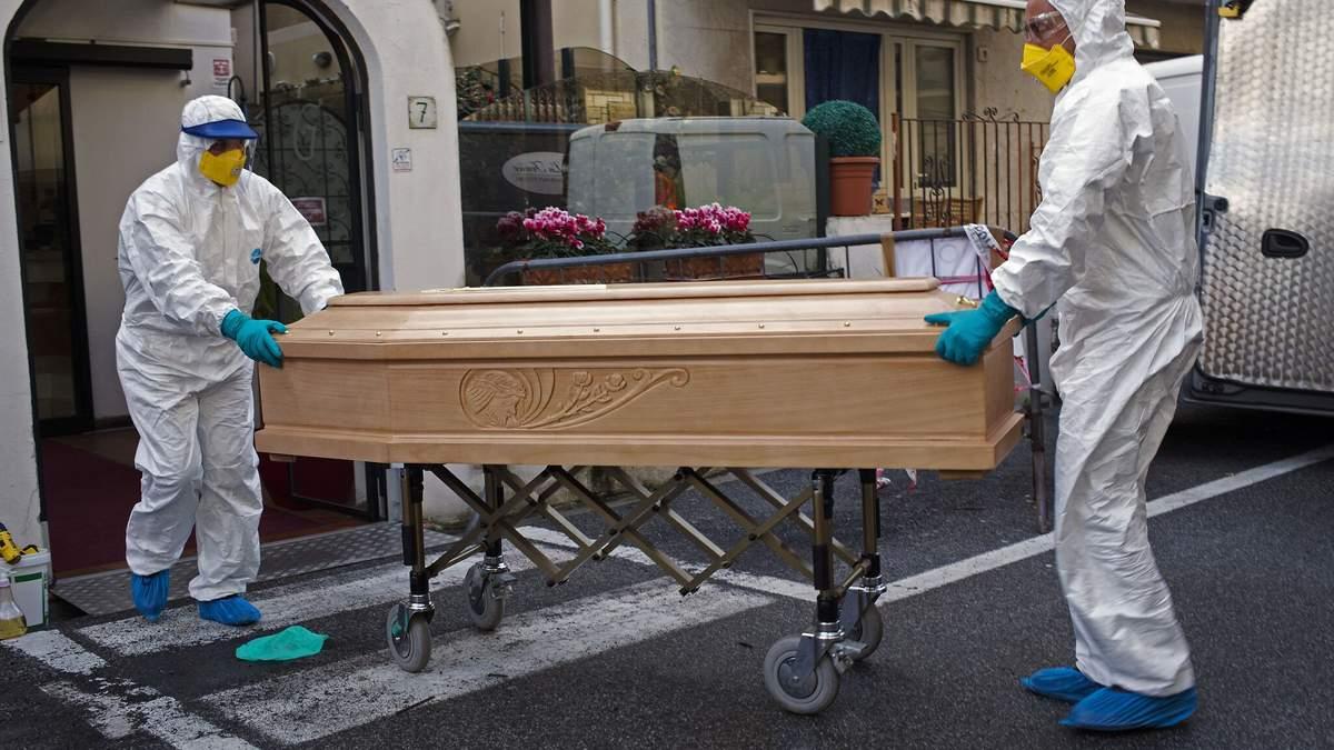 Коронавирус в Италии 4 апреля 2020 года