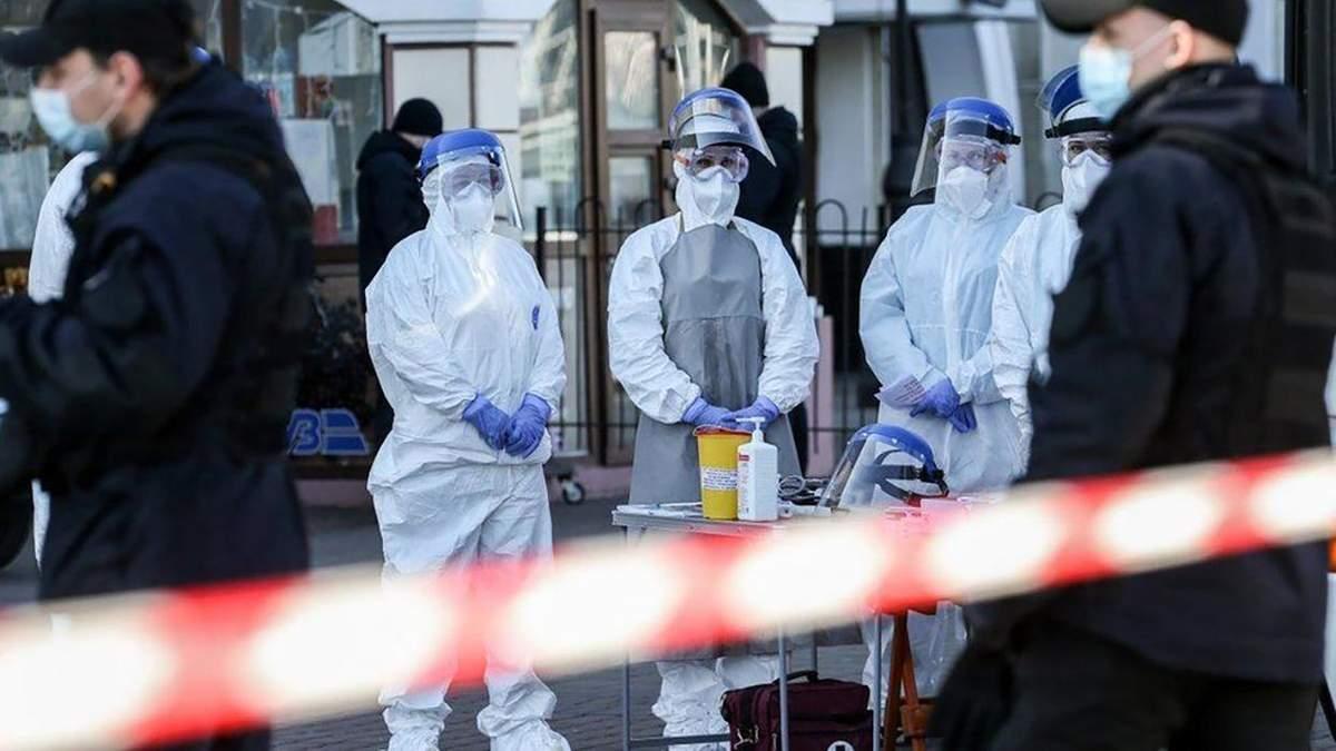 В Украине уже 1 225 случаев коронавируса: детали