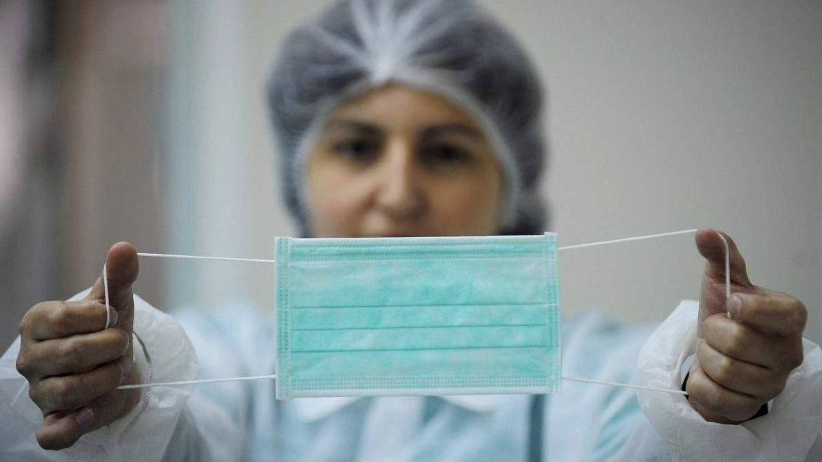 В Україні 1319 людей захворіли на коронавірус