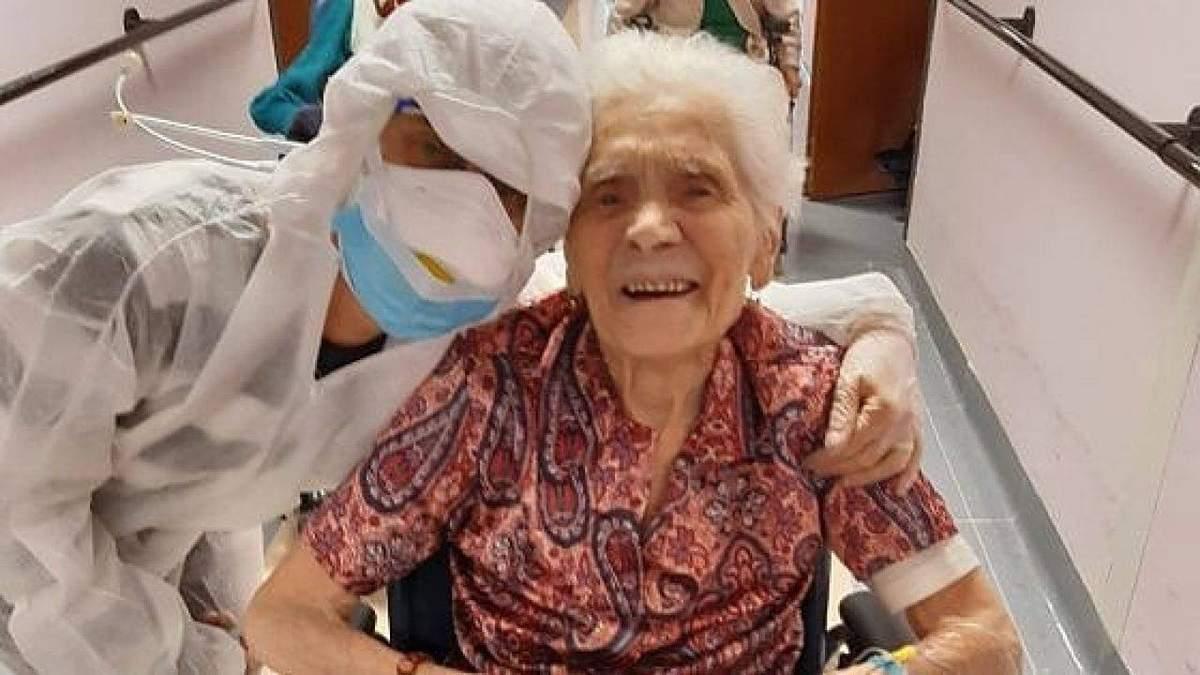 В Италии женщина выздоровела от коронавируса и стала самым старшим человеком, поборовшим болезнь