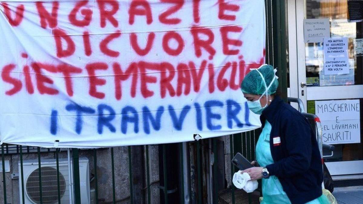 Коронавірус в Італії 6 квітня 2020 року