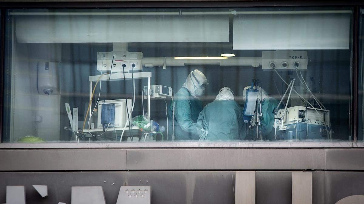 Коронавірус в Італїі: кількість померлих медиків зросла