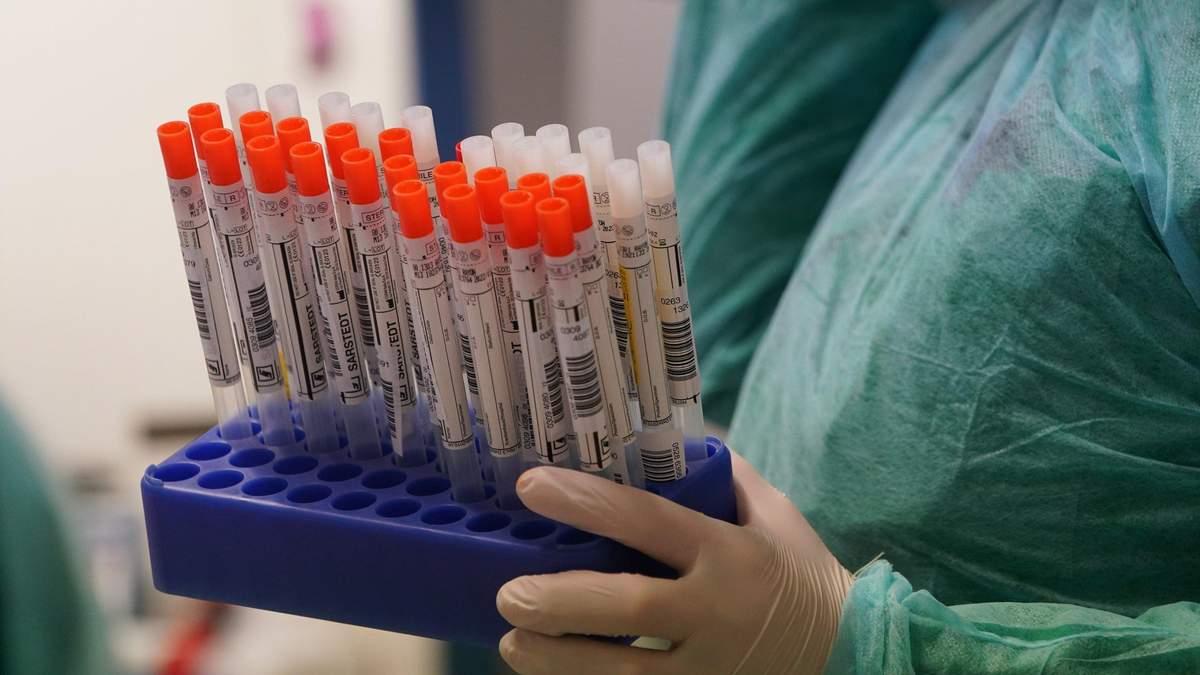 Проблеми з тестуванням на коронавірус в Україні