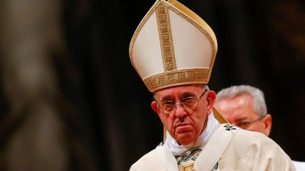 Папа Римский считает пандемию коронавируса ответом природы на изменения климата