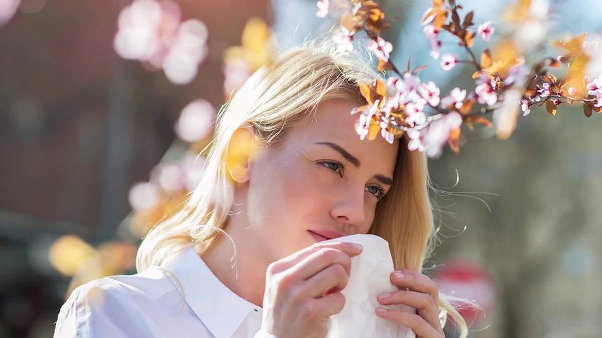 Симптоми алергії: відмінності від коронавірусу