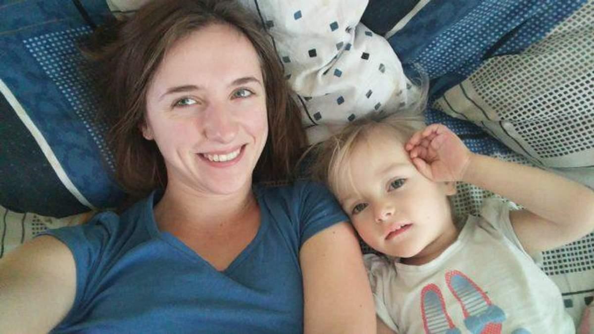 Мамунця з донькою Юстею