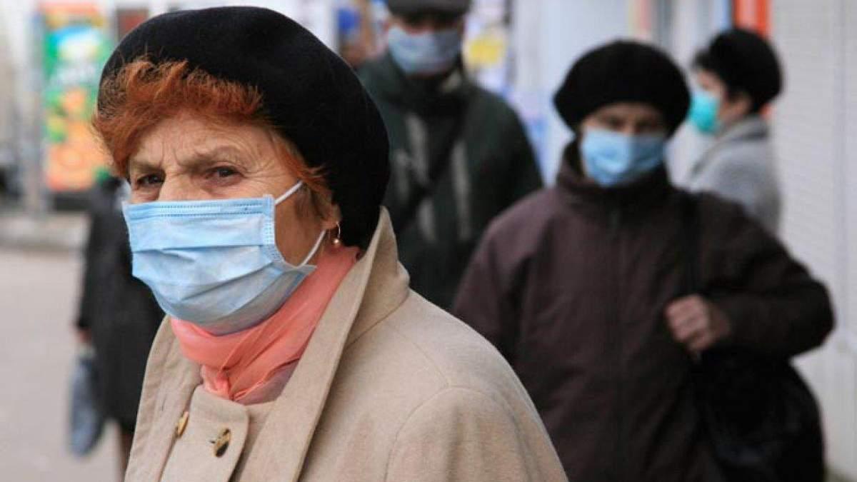 Яка смертніть від коронавірусу серед літніх людей в Україні
