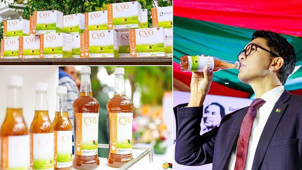 На Мадагаскаре раздают чай против коронавируса