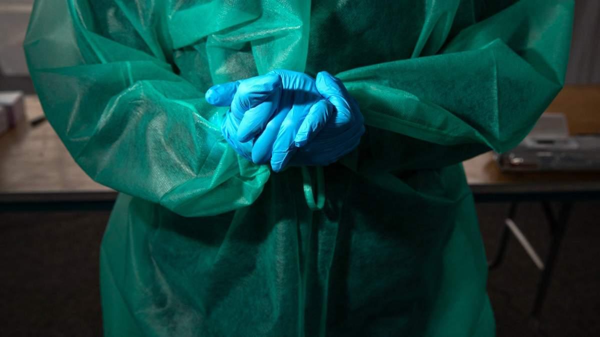 Захисний одяг для лікарів