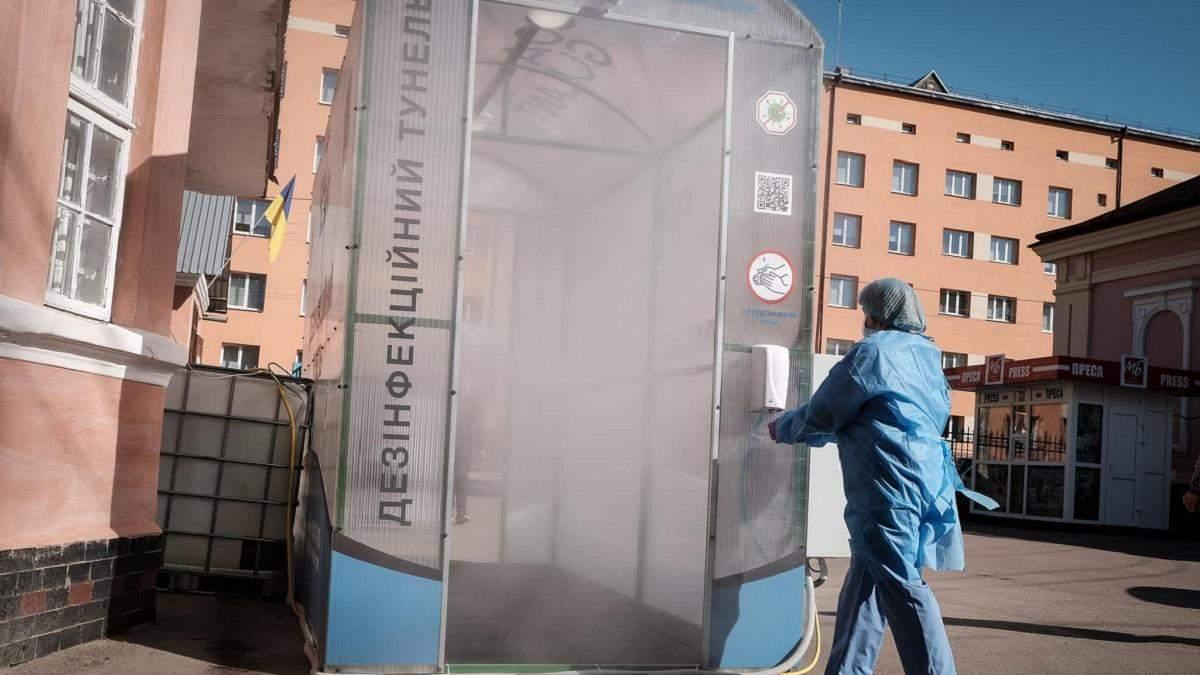 Специальный тоннель, который убивает вирусы, на Буковине