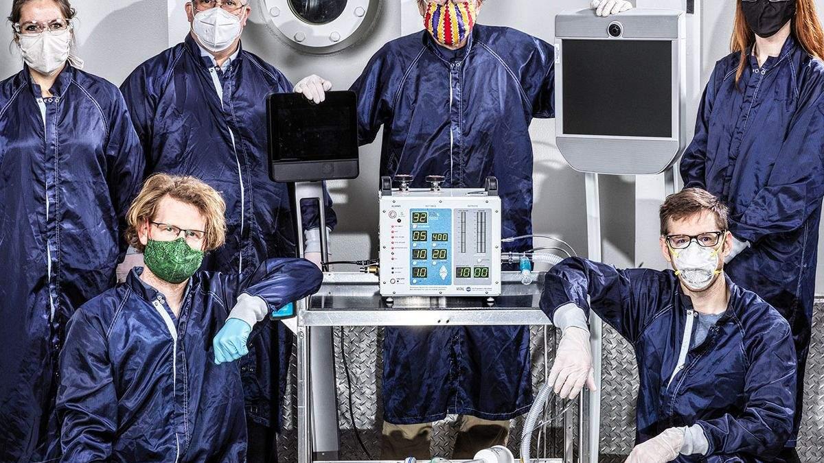 У NASA розробили нову модель апаратів ШВЛ для пацієнтів з COVID-19