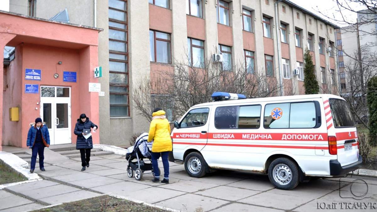 Коронавірус на Буковині: захворіла найменша дитина в Україні