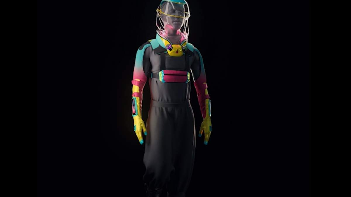 Створили противірусний костюм, який дозволяє займатись сексом під час пандемії: фото