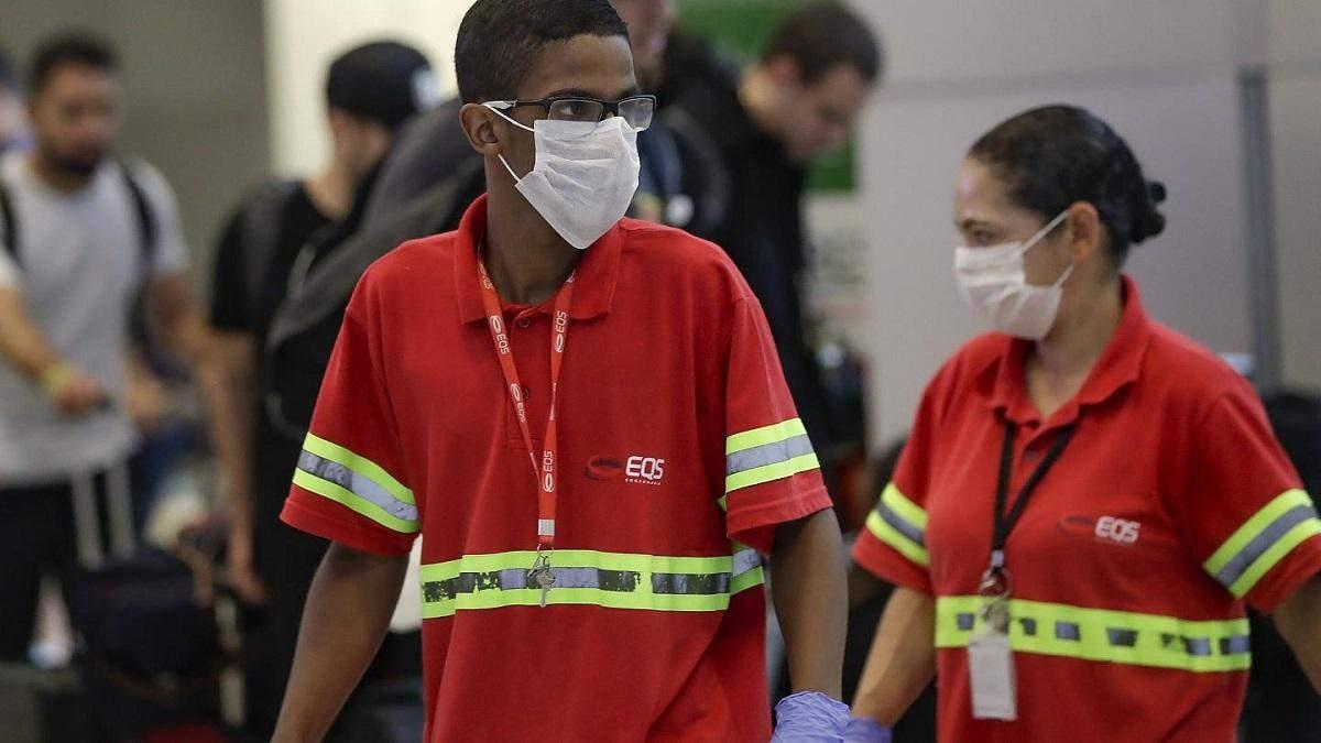 У Бразилії щоденно фіксують понад 15 тисяч випадків коронавірусу