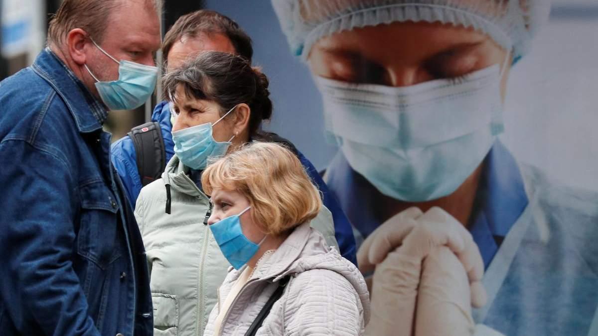 Сколько в Украине больных коронавирусом