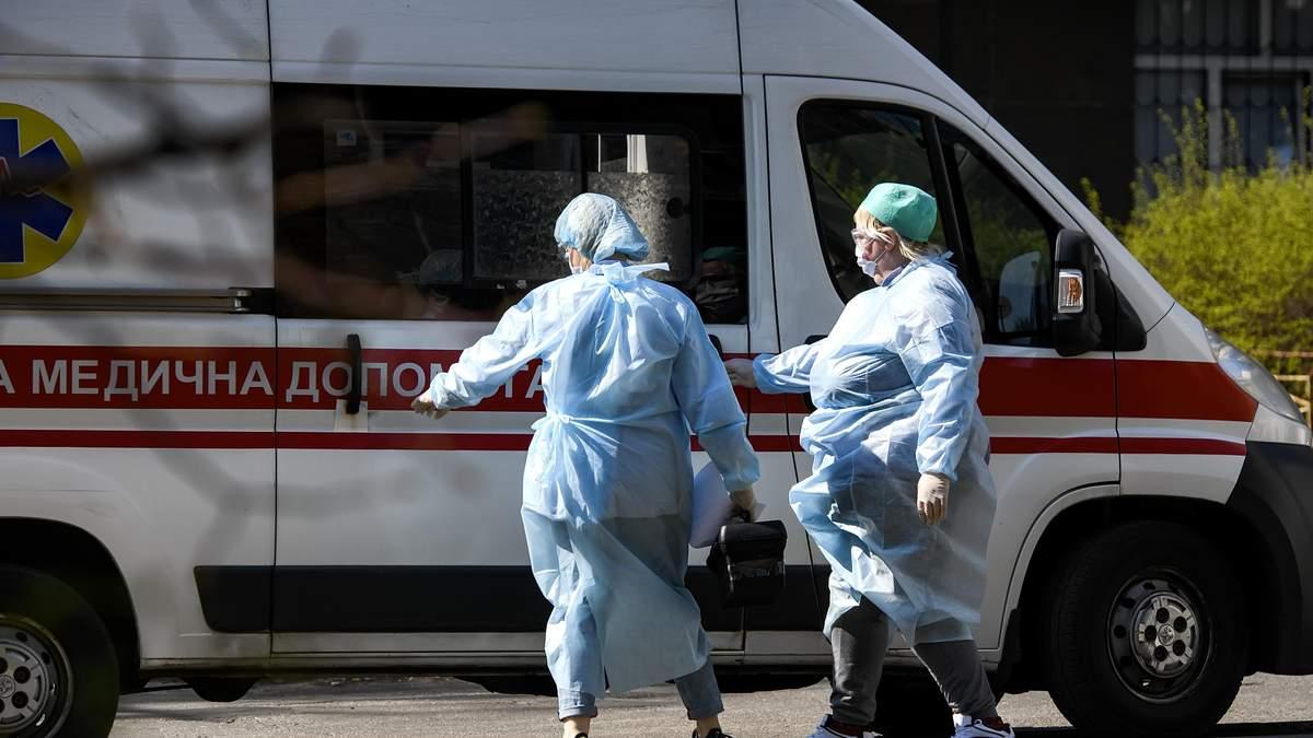 Количество больных коронавирусом украинцев