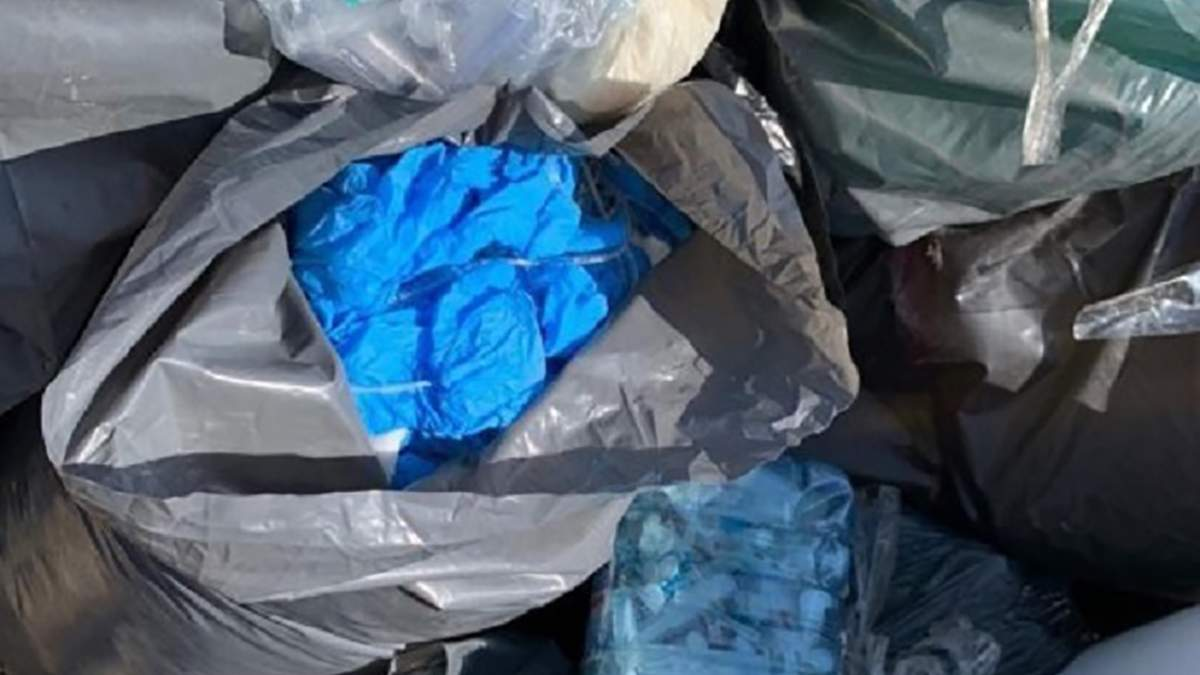 Пробирки от тестов на COVID-19 нашли на свалке: полиция открыла дело