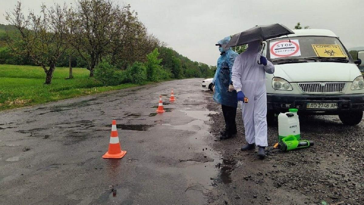 В Стройном на Закарпатье вспышка COVID-19: село закрывают