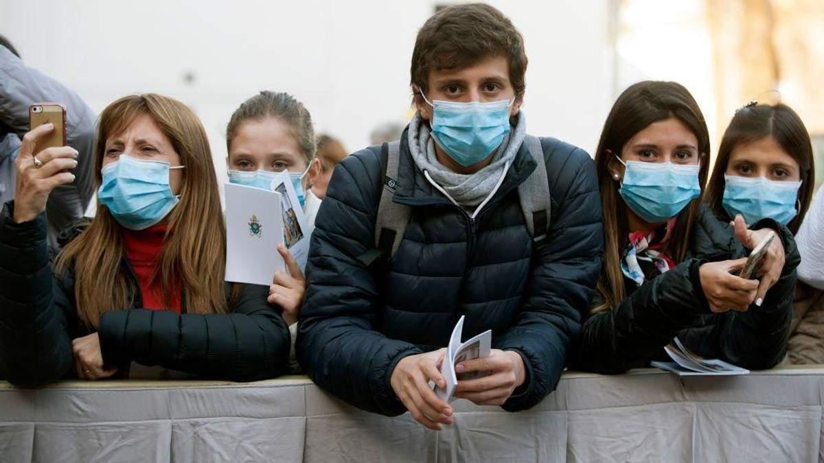 Спалах коронавірусу у світі