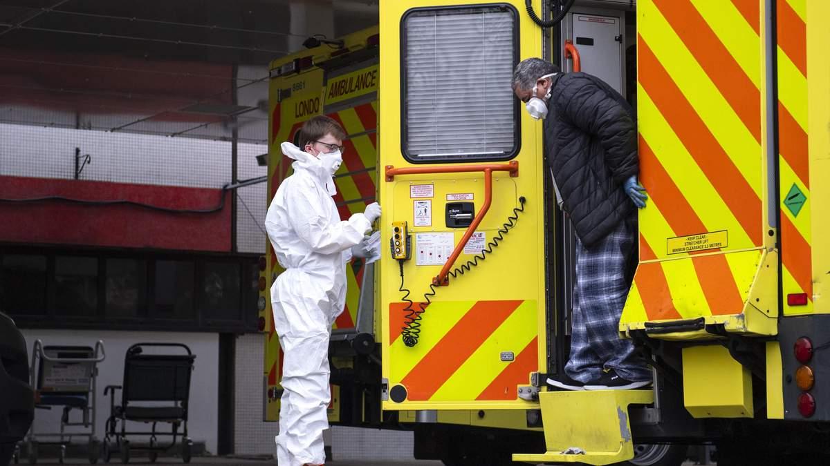 Кожен п'ятий інфікований на COVID-19 у Британії заразився у лікарні