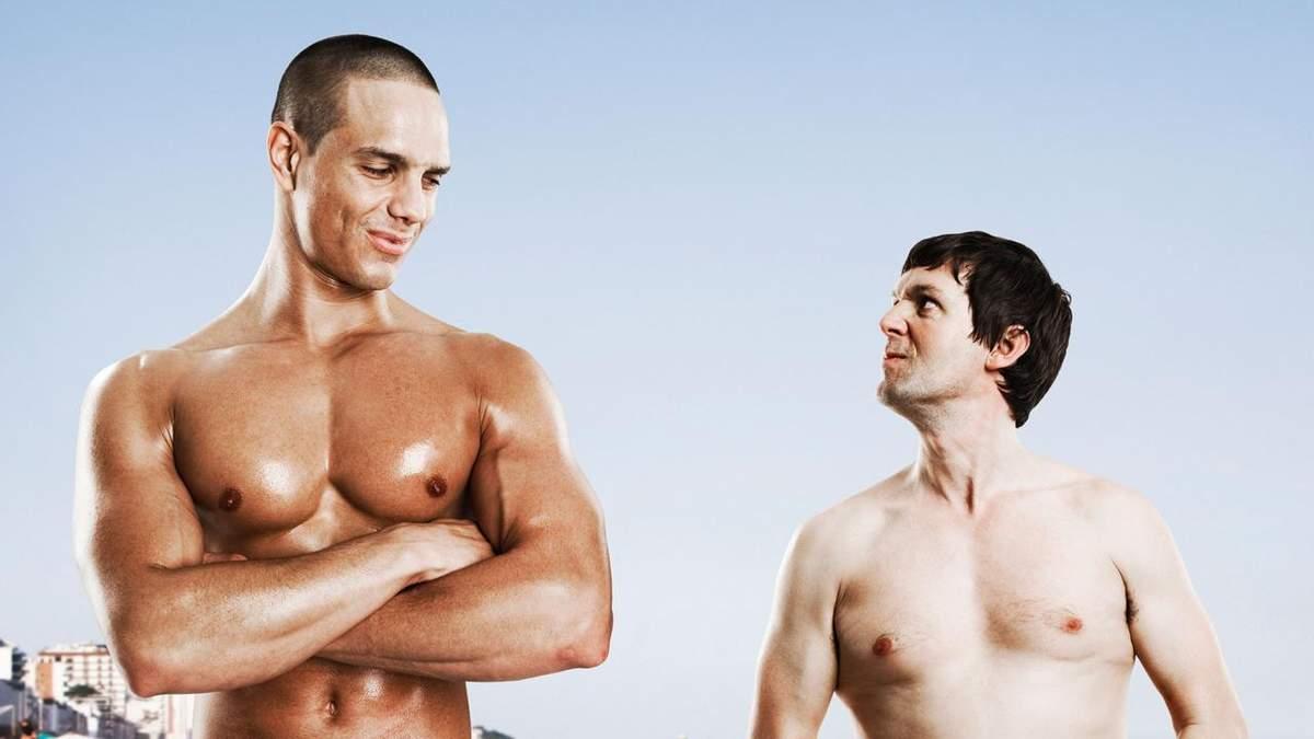 Насправді не усім жінкам подобаються чоловіки зі спортивною статурою тіла