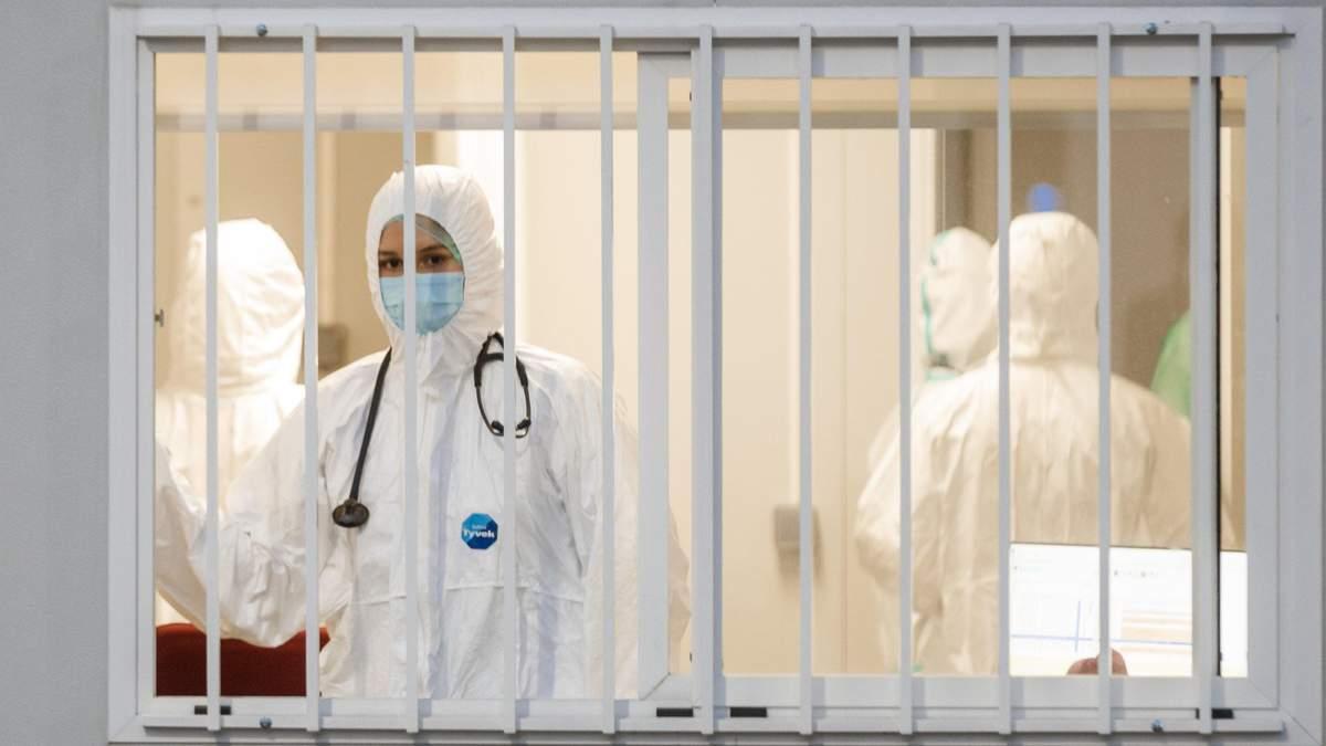 В Южноукраїнську понад 80% ліжок заповнені хворими на COVID-19