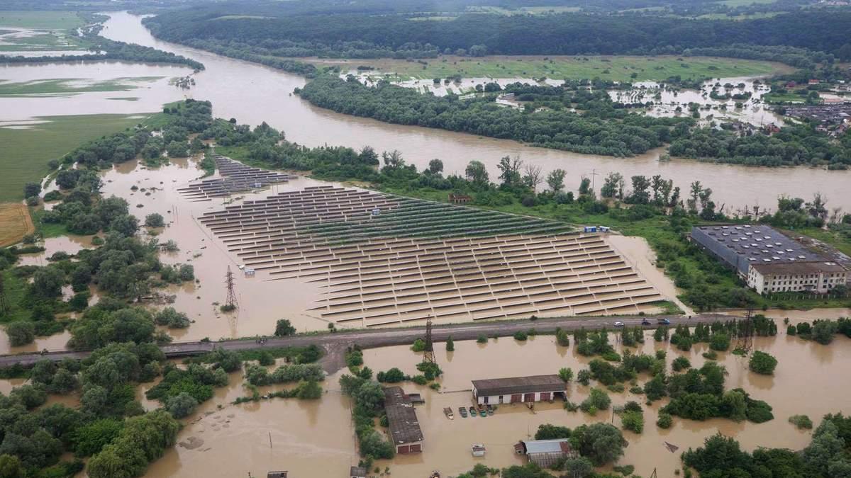Наводнения в Западной Украине