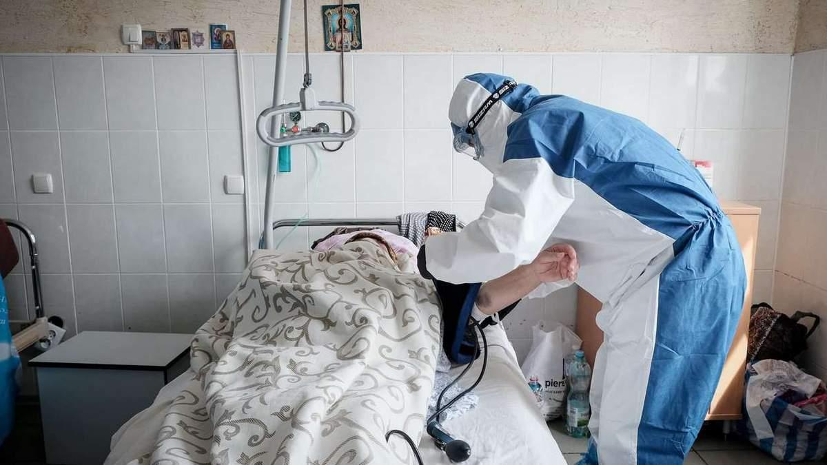 В Украине уменьшается количество тяжелых случаев