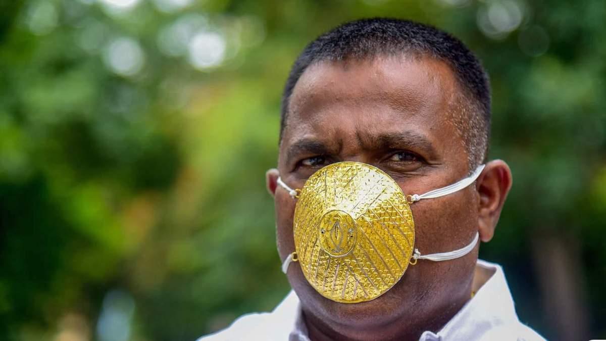 Маска из золота: бизнесмен заплатил почти 4 тысячи долларов